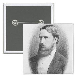 Honorable derecho el marqués de Hartington Chapa Cuadrada 5 Cm