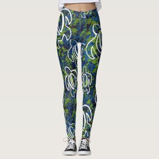 Honu azul leggings