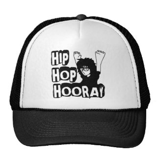 Hooray-Gorra de Hip Hop