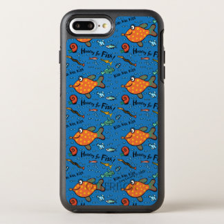 Hooray para el modelo de los pescados funda OtterBox symmetry para iPhone 7 plus
