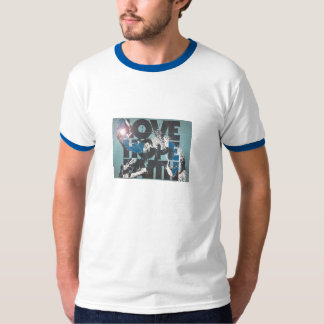 hope love faith camiseta