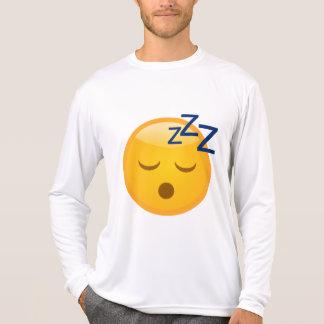 Hora de acostarse cansada Emoji Camiseta