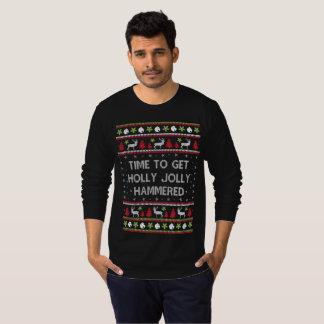 Hora de conseguir el suéter muy martillado del