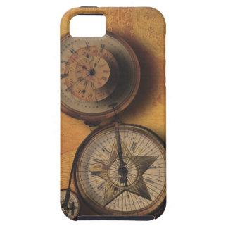 Hora de ir reloj de Steampunk en la bicicleta del iPhone 5 Case-Mate Cárcasas