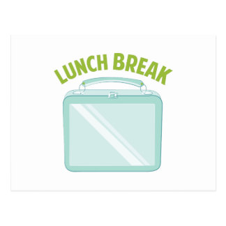 Hora de la almuerzo postal