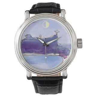Hora del azul de Río de Janeiro Reloj