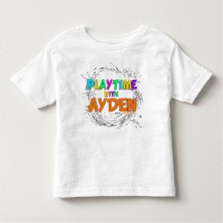 Hora del recreo con Ayden - camiseta del niño