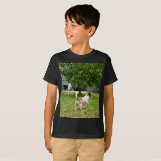 Hora del recreo de los fox terrier, camiseta negra