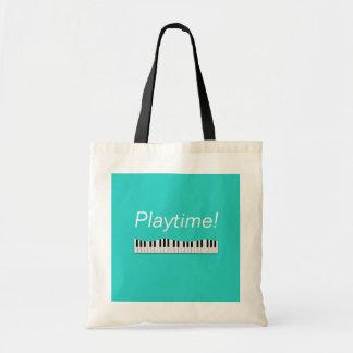 ¡Hora del recreo! La bolsa de asas del piano