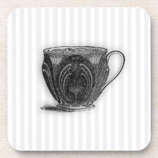 Hora para la taza de té del té #8 posavaso
