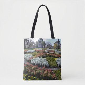 Hora para las flores bolso de tela