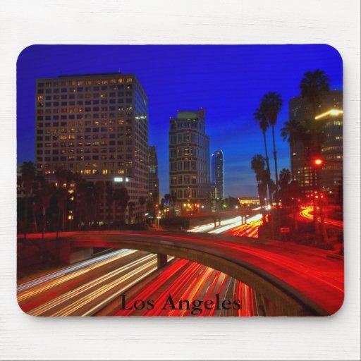 Hora punta de Los Ángeles Alfombrillas De Raton
