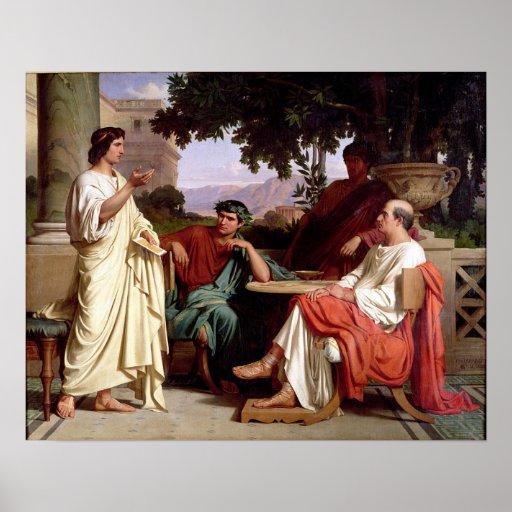 Horacio, Virgil y Varius Impresiones