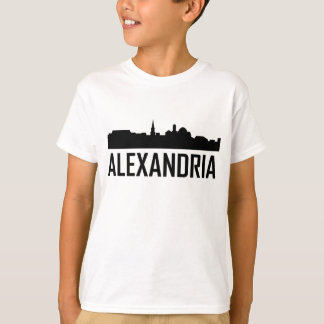 Horizonte de Alexandría Virginia City Camiseta