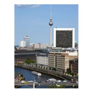 Horizonte de Berlín, Alemania Postal