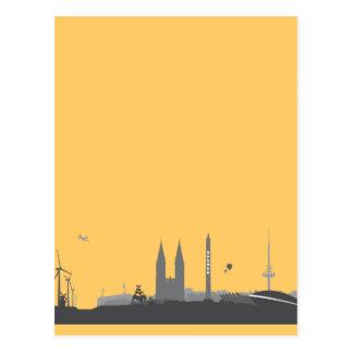 Horizonte de Bremen tarjeta postal