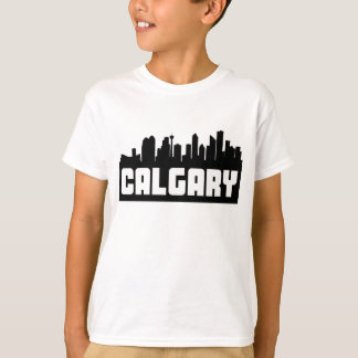 Horizonte de Calgary Alberta Camiseta