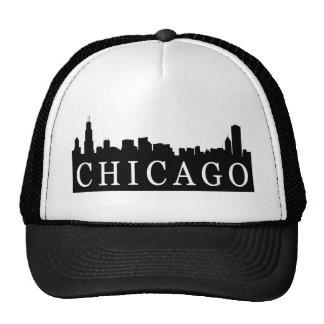 Horizonte de Chicago Gorras De Camionero