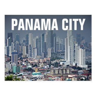Horizonte de ciudad de Panamá Postal