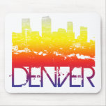 Horizonte de Denver Tapete De Ratón