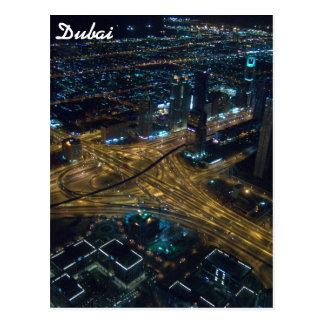 Horizonte de Dubai, United Arab Emirates en la Postal