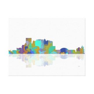Horizonte de El Paso Tejas Impresión En Lona