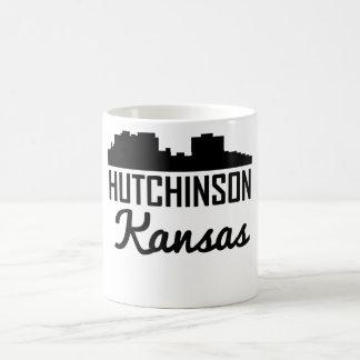 Horizonte de Hutchinson Kansas Taza De Café