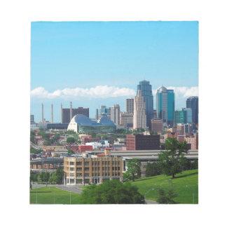 Horizonte de Kansas City Bloc De Notas