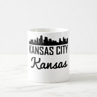 Horizonte de Kansas City Kansas Taza De Café