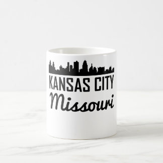 Horizonte de Kansas City Missouri Taza De Café