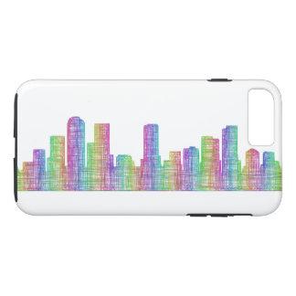 Horizonte de la ciudad de Denver Funda iPhone 7 Plus