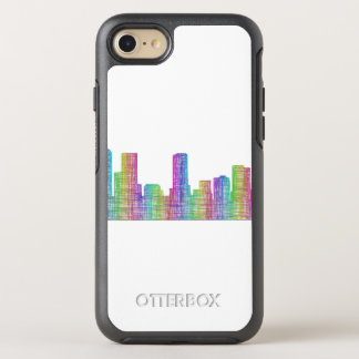 Horizonte de la ciudad de Denver Funda OtterBox Symmetry Para iPhone 7