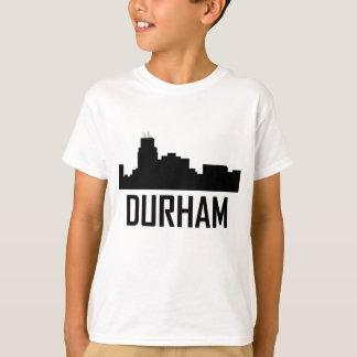 Horizonte de la ciudad de Durham Carolina del Camiseta