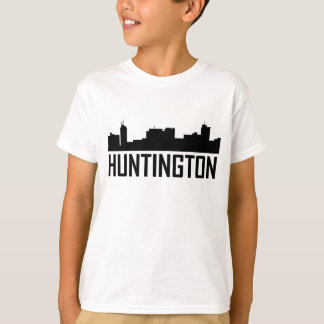 Horizonte de la ciudad de Huntington Virginia Camiseta