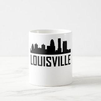Horizonte de la ciudad de Louisville Kentucky Taza De Café
