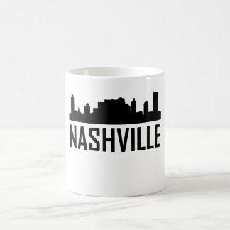 Horizonte de la ciudad de Nashville Tennessee Taza De Café