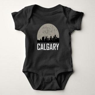 Horizonte de la Luna Llena de Calgary Body Para Bebé