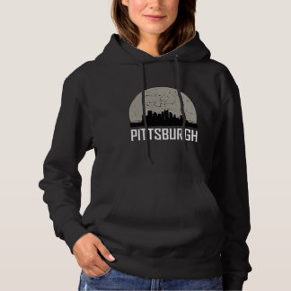 Horizonte de la Luna Llena de Pittsburgh Sudadera