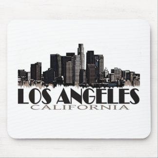 Horizonte de la oscuridad de Los Ángeles Californi Alfombrilla De Ratón