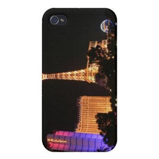 Horizonte de Las Vegas iPhone 4 Fundas