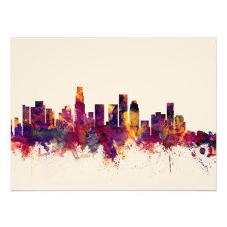 Horizonte de Los Ángeles California Arte Con Fotos