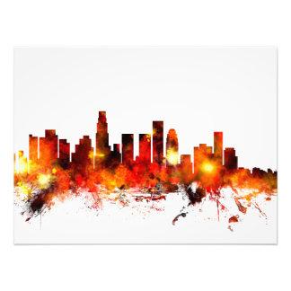 Horizonte de Los Ángeles California Impresiones Fotográficas