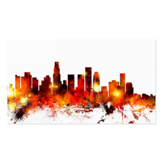 Horizonte de Los Ángeles California Plantillas De Tarjetas Personales