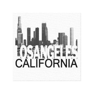 Horizonte de Los Ángeles Impresión En Lienzo Estirada
