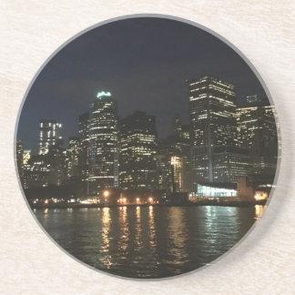 Horizonte de Manhattan Posavasos