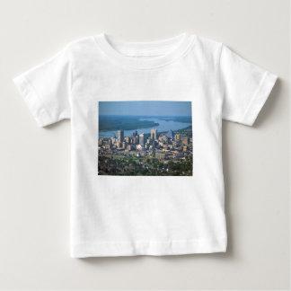Horizonte de Memphis Tennsesse Camiseta De Bebé