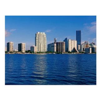 Horizonte de Miami, la Florida Postal