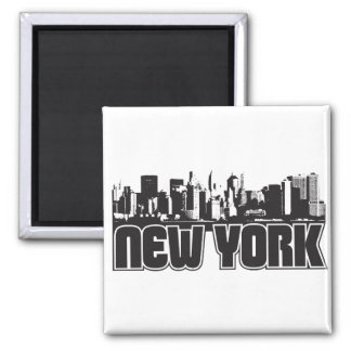 Horizonte de Nueva York Imán