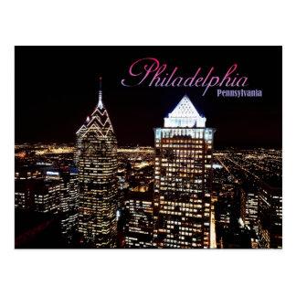 Horizonte de Philadelphia, Pennsylvania Postal