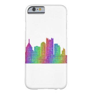 Horizonte de Pittsburgh Funda Barely There iPhone 6